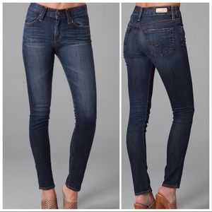 AG | Farrah High Rise Dark Wash Skinny Jean 27R